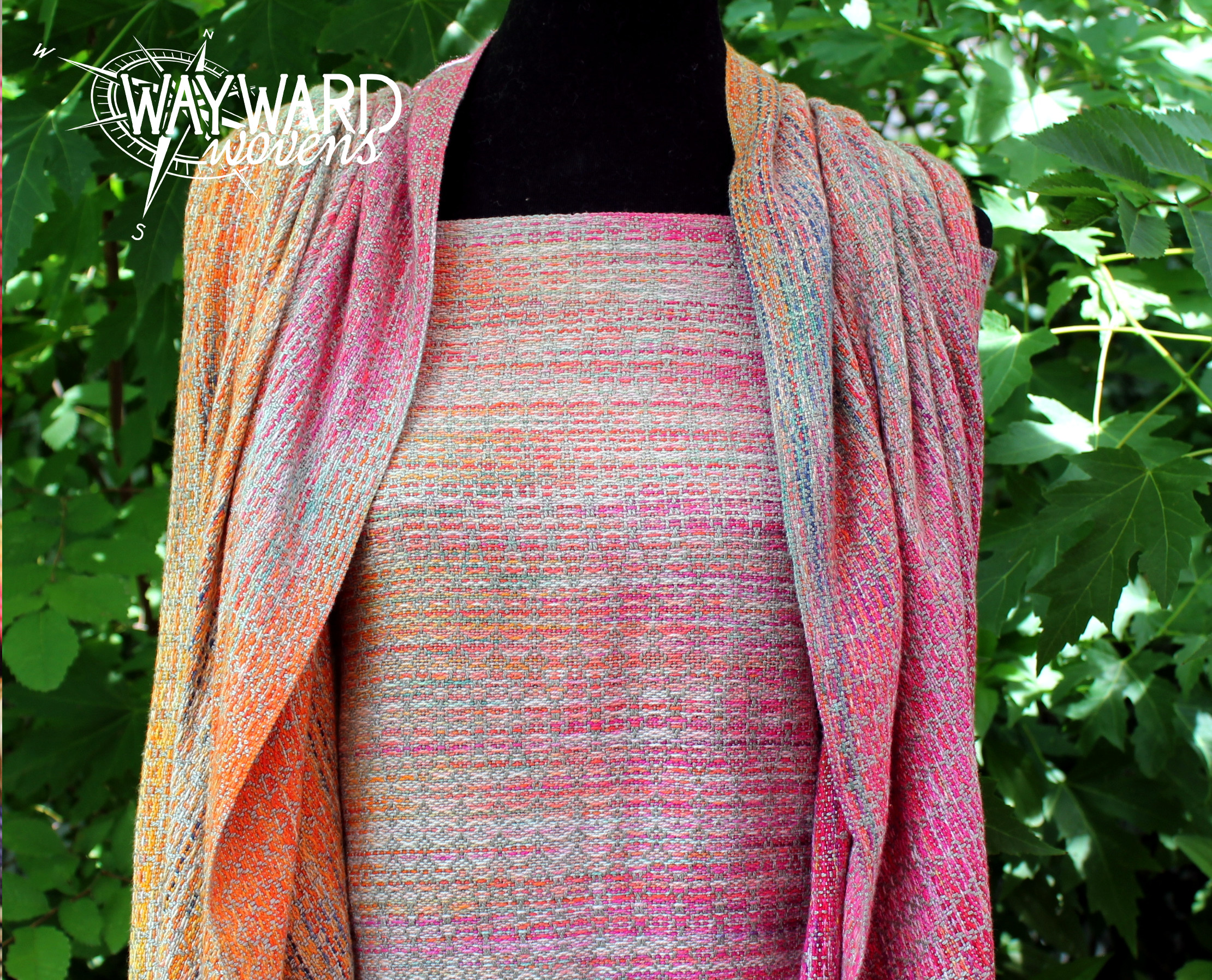 Woven wrap, front view