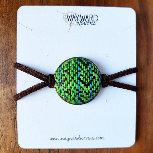 Handwoven Bezel Bracelet