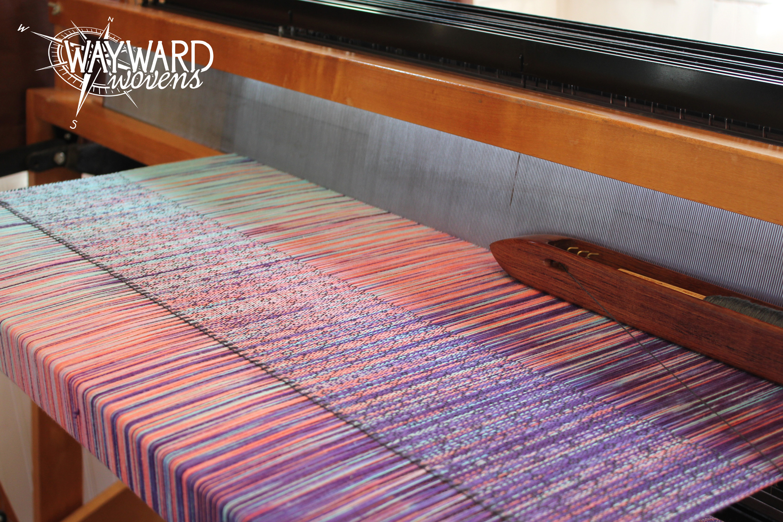 Weaving bamboo weft