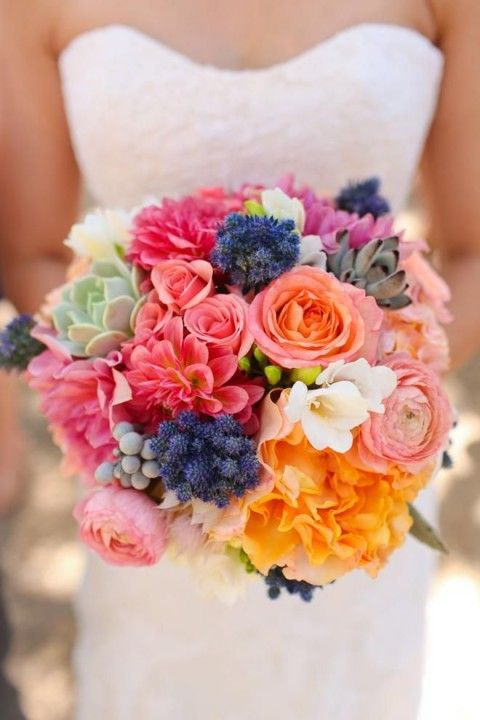 Warp inspiration, flower bouquet