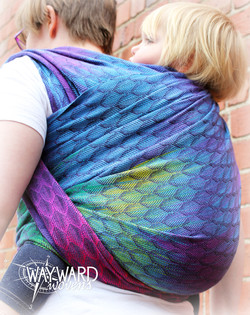 Back carry, side view
