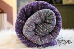 Rose-silk weft