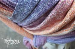 Woven wrap, crossed