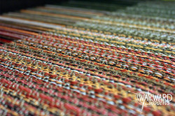 Woven cloth, bamboo weft