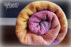 Silk weft, rolled wrap