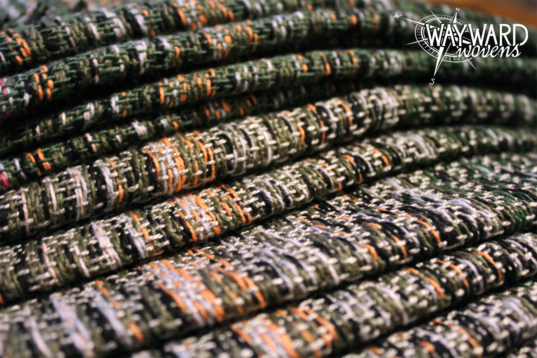 Woven wrap, stacked