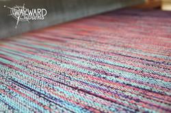 Weaving suvin weft