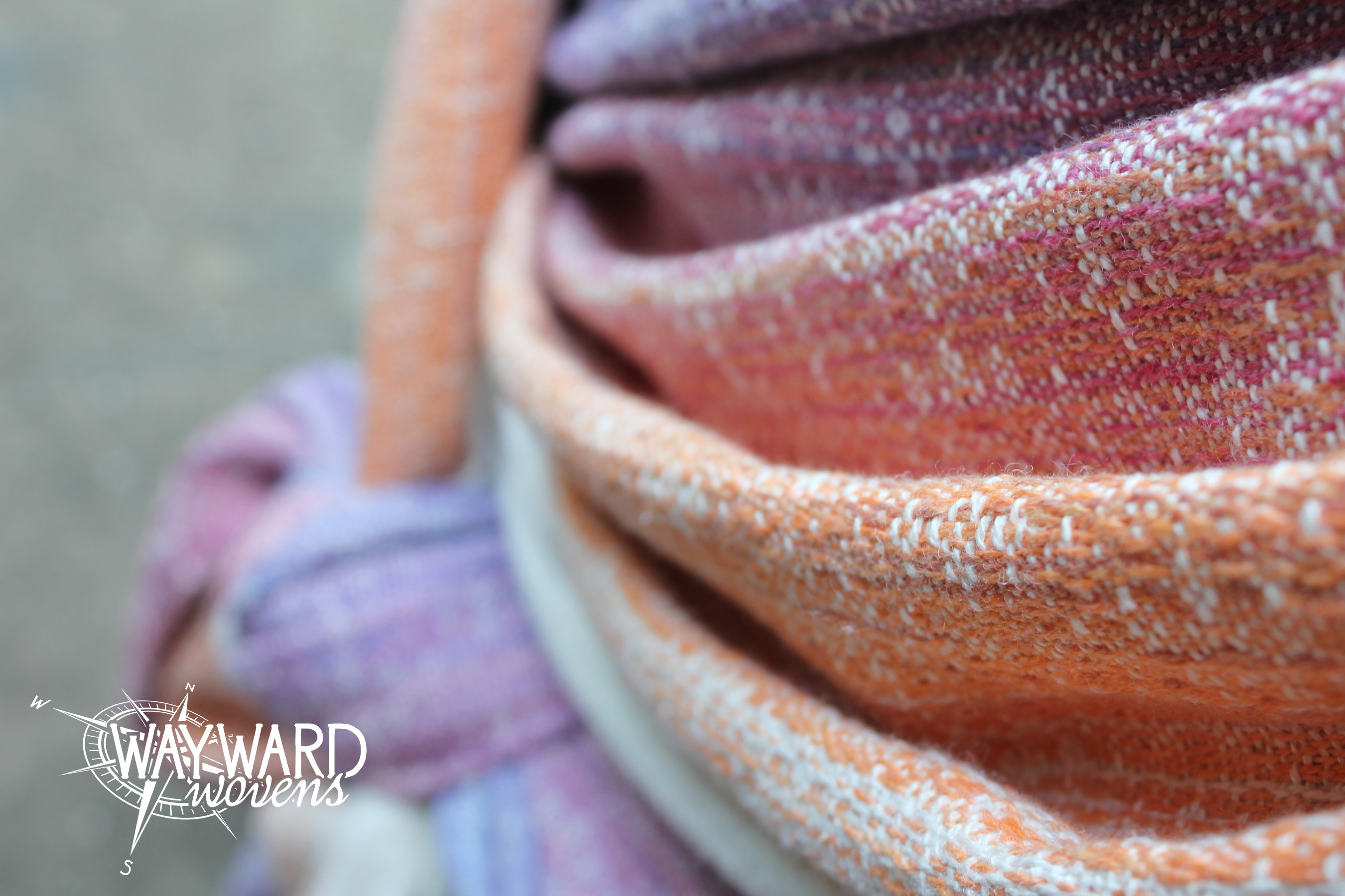 Woven wrap and knot
