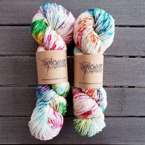 Funfetti - Worsted Weight Superwash Wool yarn