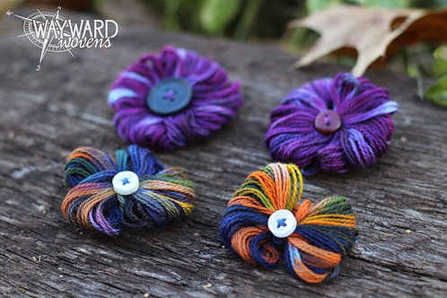 Yarn Bows & Rosettes