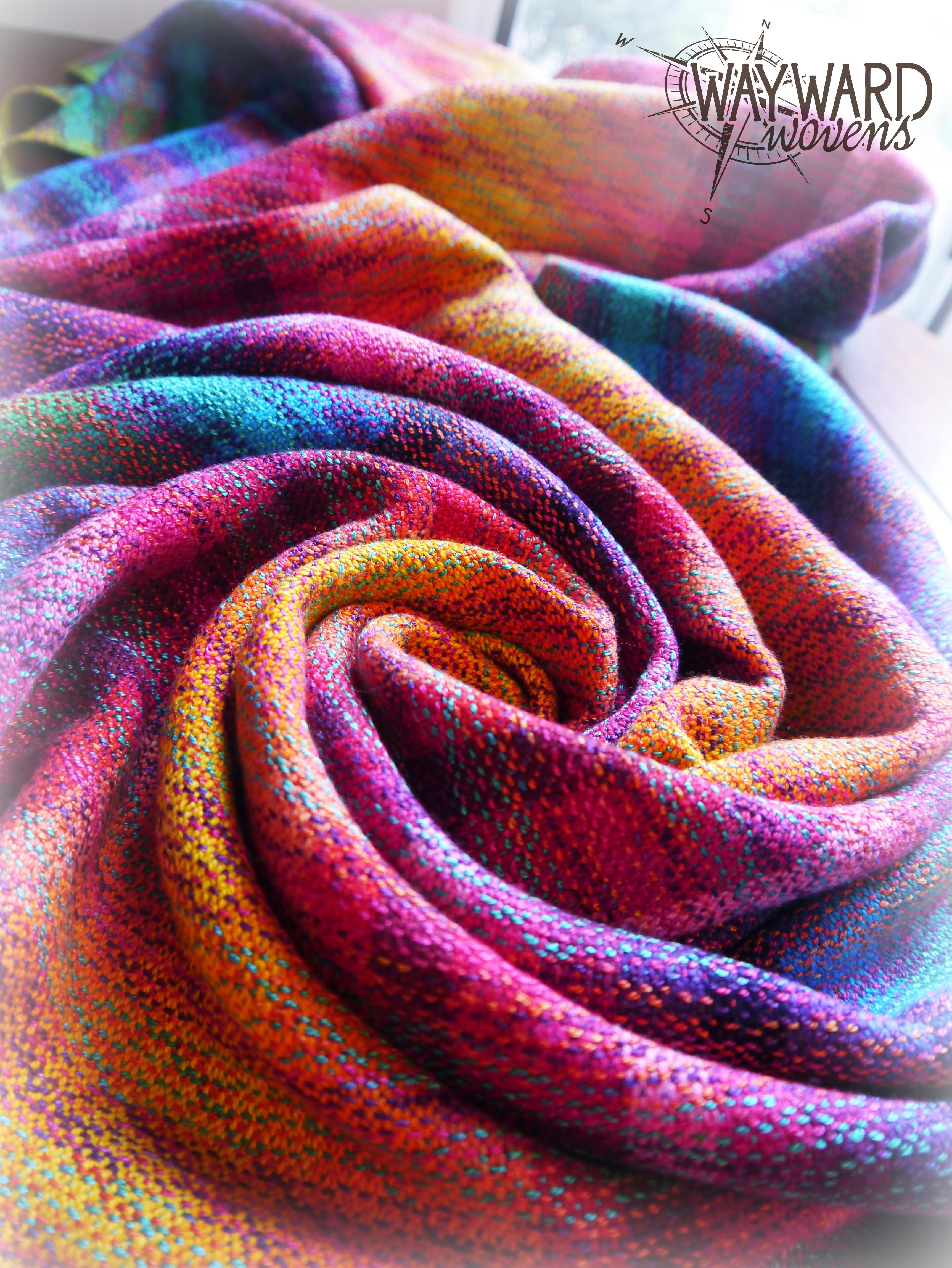 Swirled wrap