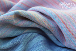 Woven cloth, bunched