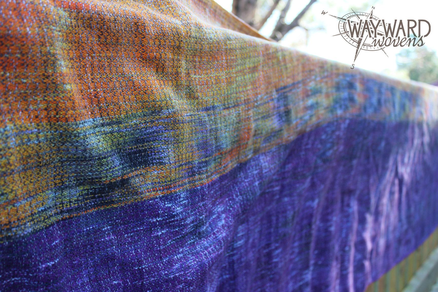 Woven wrap, flat