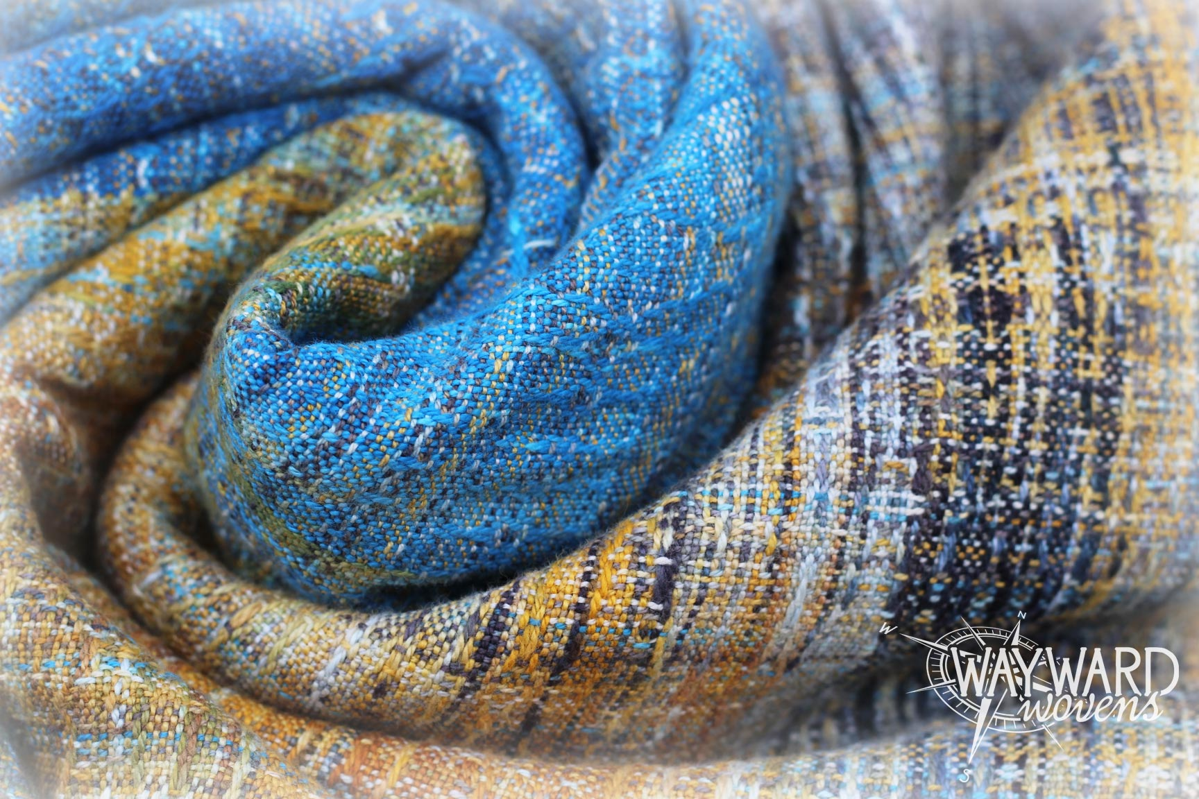 Woven wrap, twisted