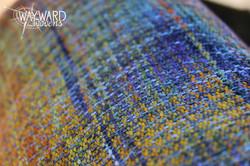 Woven wrap, close up