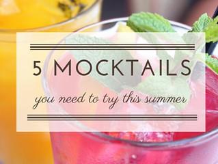 5 Mocktails for Summer