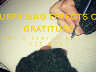 Surprising Effects of Gratitude