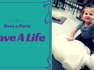 Have A Party, Save A Life