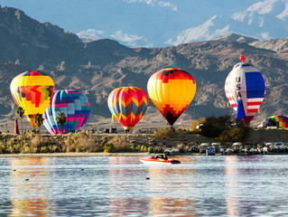 Balloon Festival in Lake Havasu