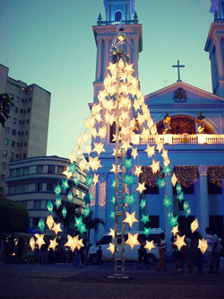 Decoração e Iluminação Natalina