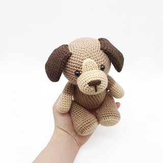 crochet amigurumi dog home pet pattern