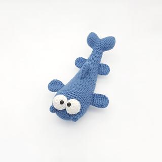 crochet amigurumi catfish sea creature pattern