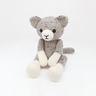 crochet amigurumi home pet cat pattern