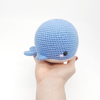 crochet amigurumi whale sea creature pattern