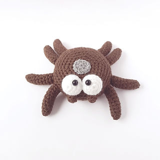 crochet amigurumi tick spider pattern insect