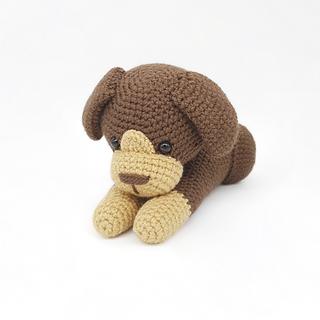 crochet amigurumi dog puppy home pet pattern