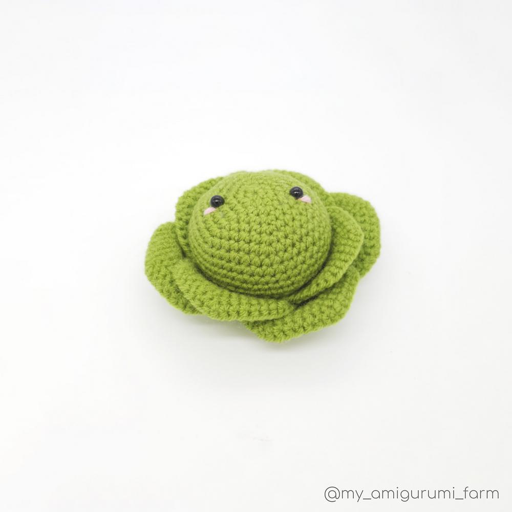 crochet amigurumi cabbage free pattern my amigurumi farm