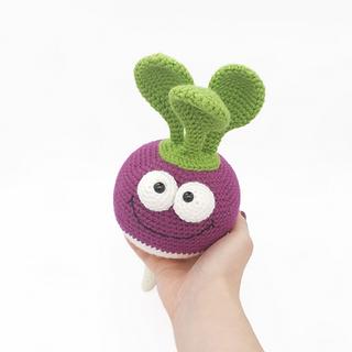 crochet amigurumi turnip pattern