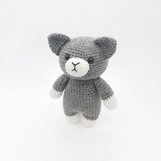 crochet amigurumi cat kitten pattern home pet