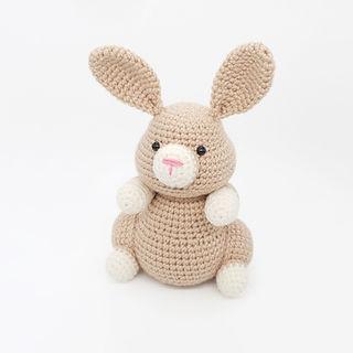 crochet amigurumi bunny rabbit hare woodland forest animal pattern
