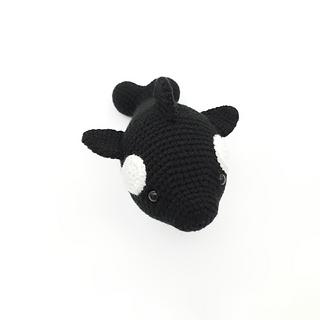 crochet amigurumi orca fish sea creature pattern
