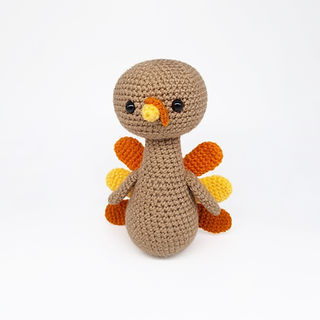 crochet amigurumi turkey Thanksgiving pattern