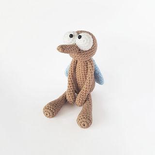 crochet amigurumi insect mosquito pattern