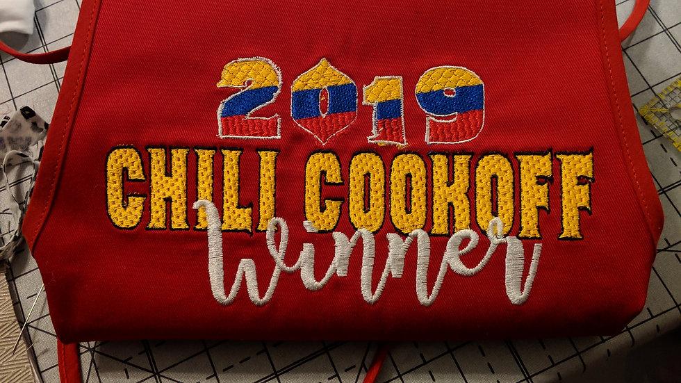 Custom Embroidery Apron