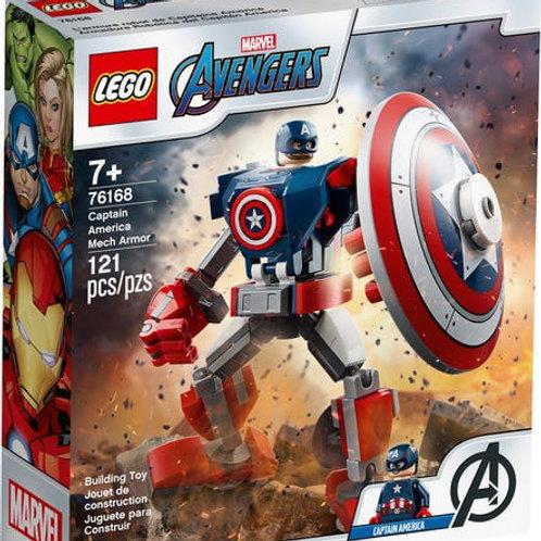 לגו הנוקמים 76168-השריון של קפטן אמריקה
