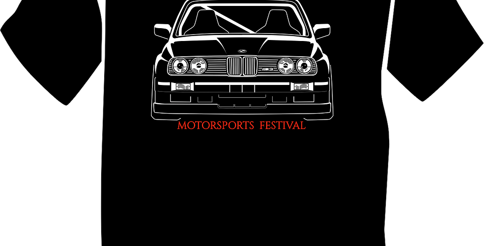 MPACT (E30 M3) T-Shirt in Black