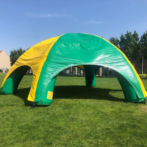 Party Tent opblaas systeem