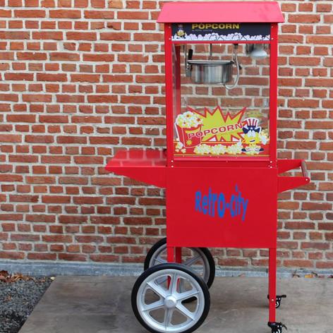 Popcornmachine incl. 100 porties
