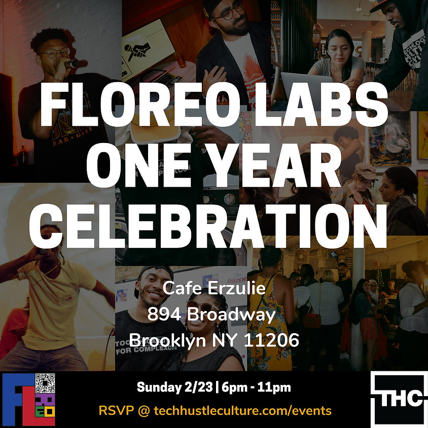 FLOREO LABS ONE YEAR!