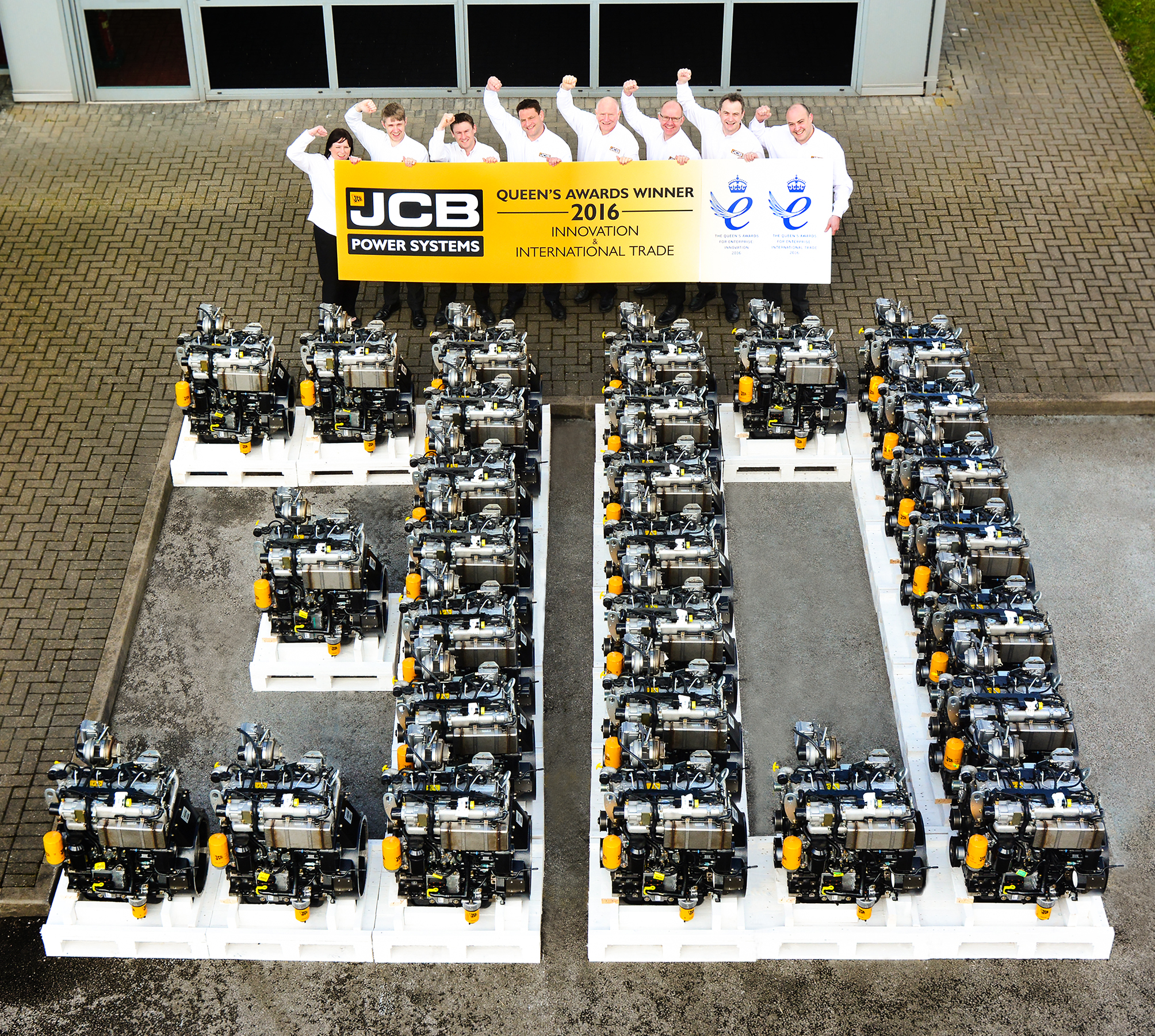 JCB Power Systems - Queen's Award