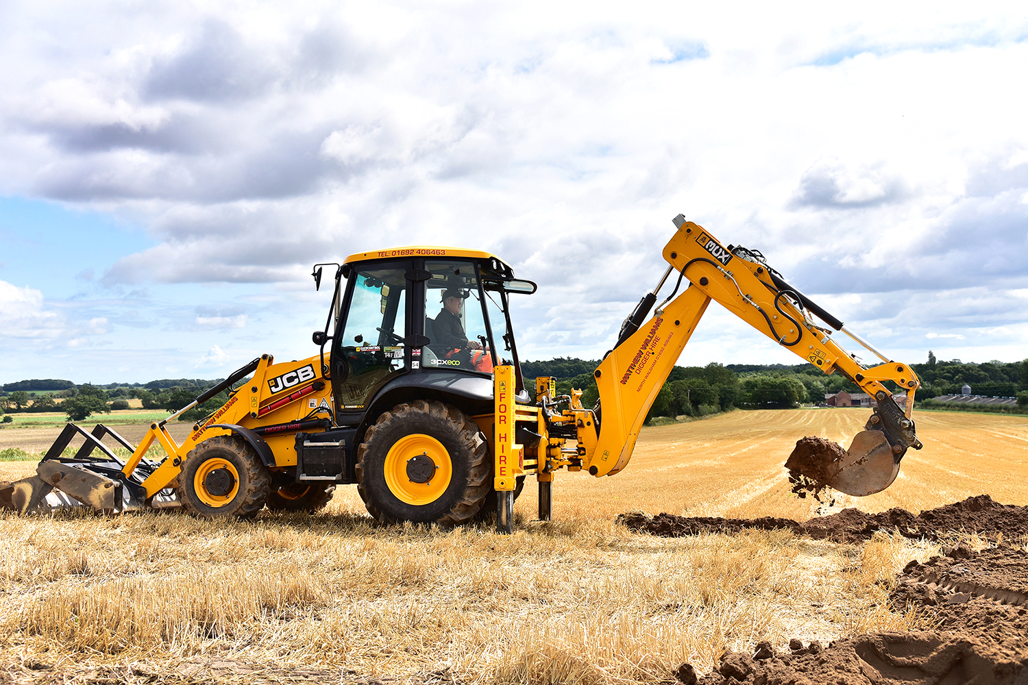 Matthew Williams JCB 3CX