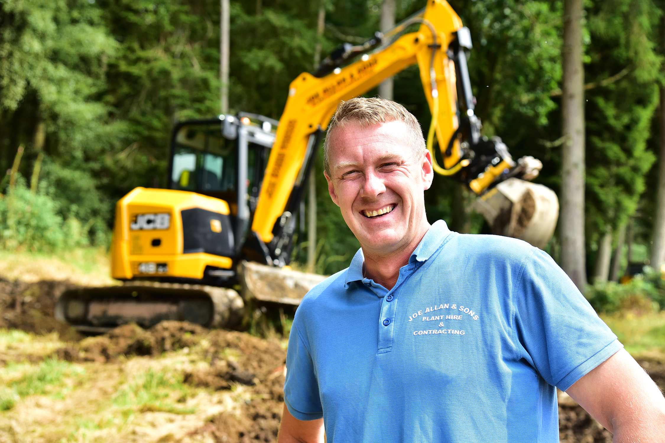 Dave Allan and his JCB 48-Z
