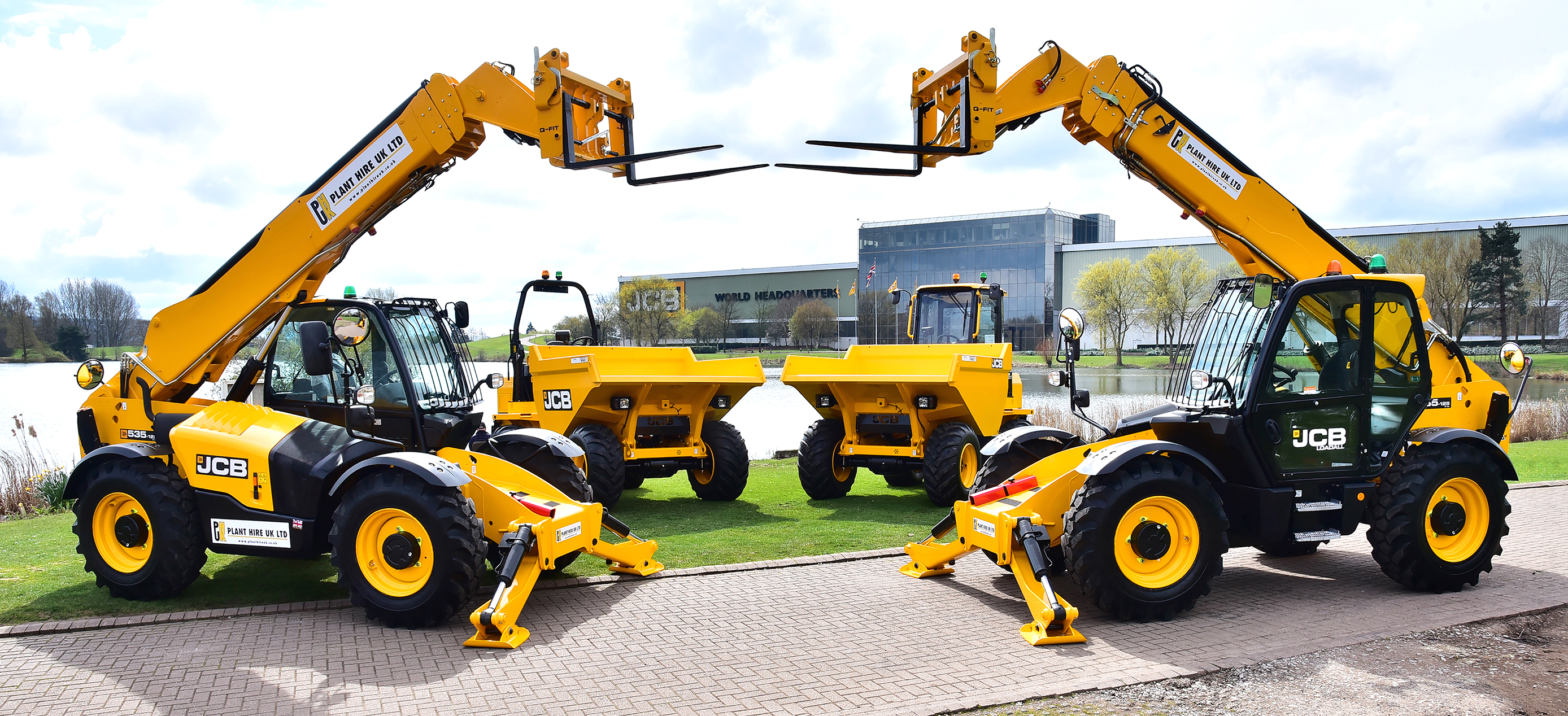 Plant Hire UK JCB machine order