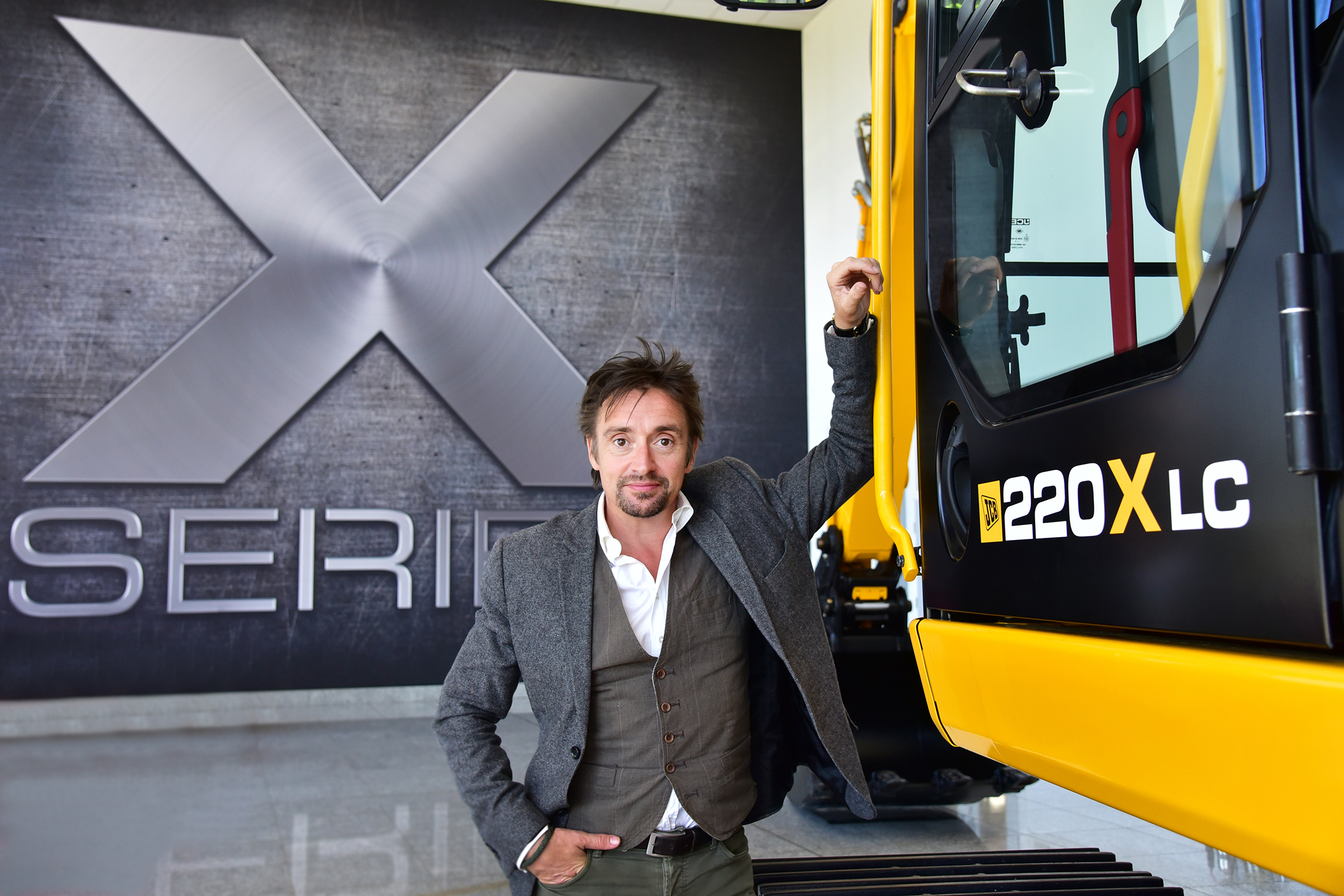 Richard Hammond at JCB