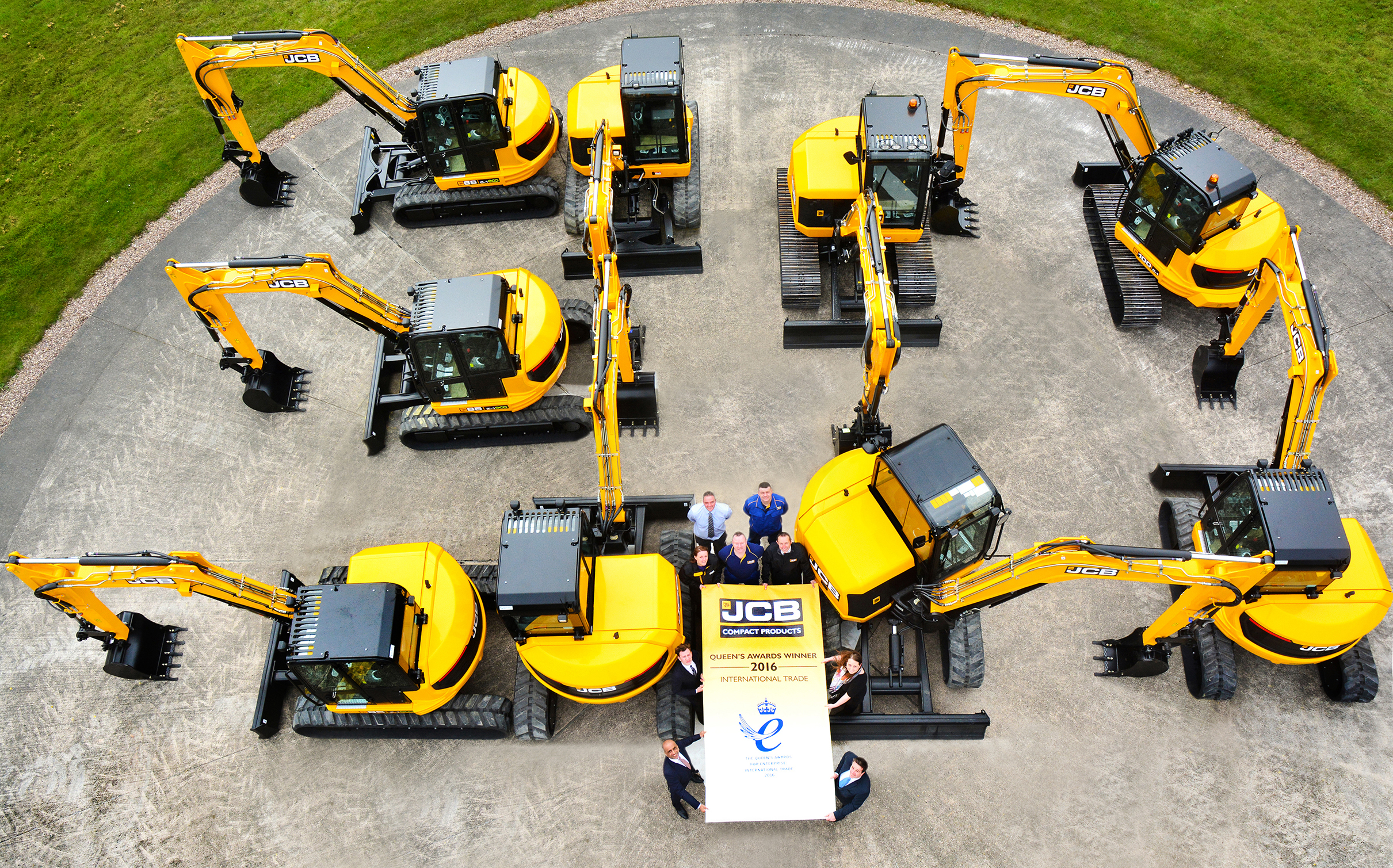 JCB Compact Products - Queen's Award