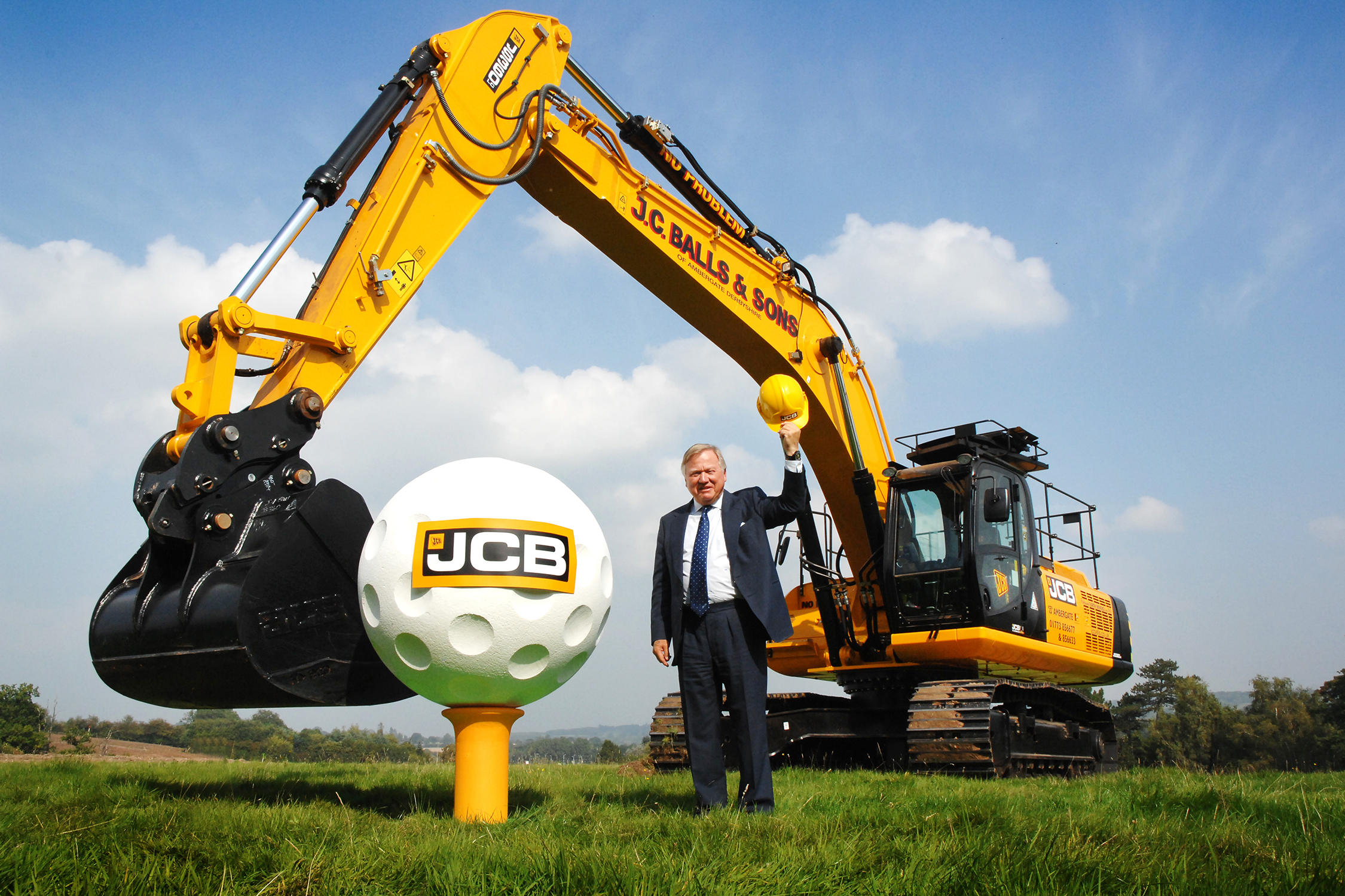 Lord Bamford and JCB Golf